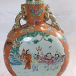 Large Hand Painted Chinese Vase