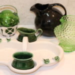 Lot Of Assorted Decorative Glass And Porcelain Pieces Made In Portugal And By Hall USA