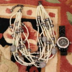 Decorative Bead Necklace With Quality Replica Watch