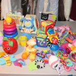 Lot Of Assorted Baby Toys Including Rattles And Dolls