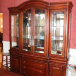 Large China Cabinet With Glass Shelves