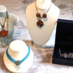 Women's Quality Fashion Necklace Lot With Thomas Knoell Couture Headpiece
