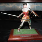 Highly Detailed Hand Painted Heraldic Miniatures Metal Knights Signed Brian Rodden No. 5/1988