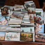 Large Collection Of Vintage & Antique Travel Post Cards