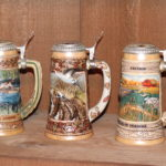 Lot Of 5 Ducks Unlimited Steins