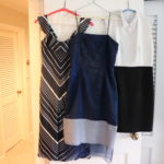 3 Women's Dresses Includes Anne Fontaine Size 40/10 M, Ralph Lauren Size 8, Christina Perrin Size 8