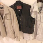 Bobby Jones, Kerr Leathers And RVCA Vest And Mens Outerwear